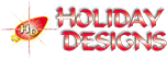 Commercial Christmas Decorations and Displays by Holiday Designs, Inc.