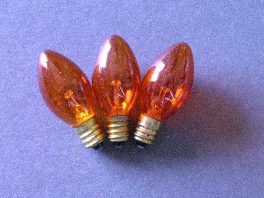 C7 Incandescent Twinkle Bulbs
