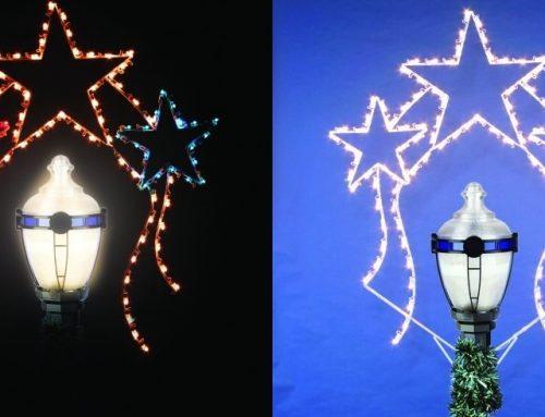 Holiday Boulevard Lamp Posts